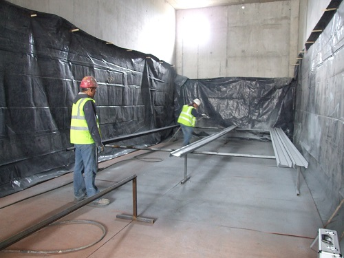 Bord na Mona Drying sheds used as spray painting room (1)