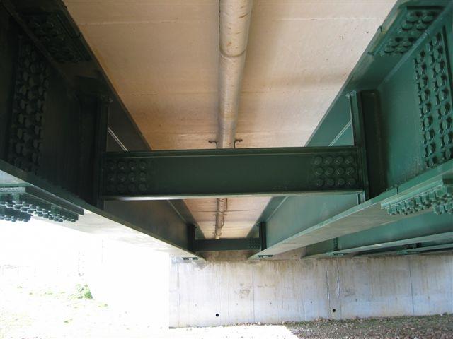 Duich bridge - underneath view